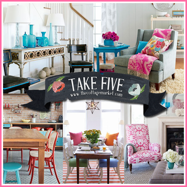 Take Five: Pops of Color Revisted