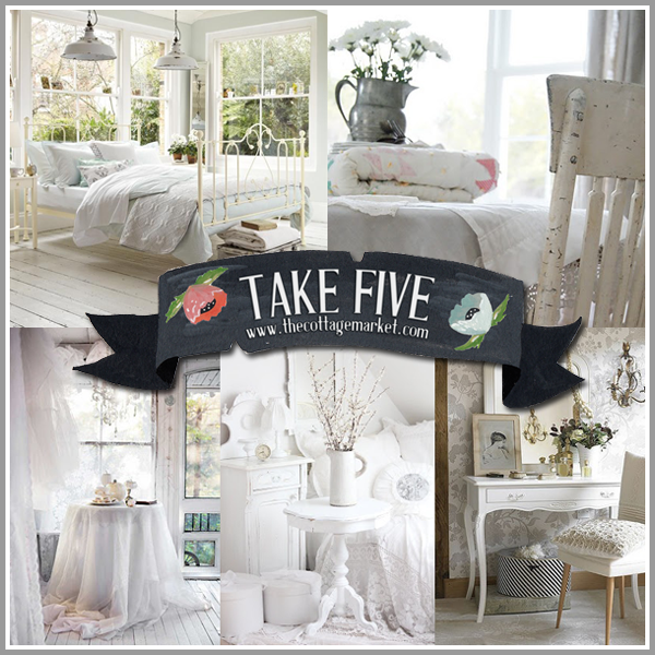 take 5: wonderful white decor - the cottage market