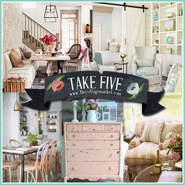 Take Five: A Breath of Fresh Cottage Style