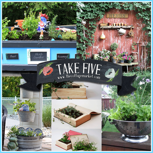 Take Five: Wonderful Herb Garden with an update