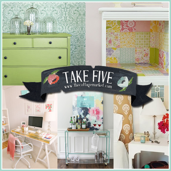 5 Cottage Chic Ikea Hacks
