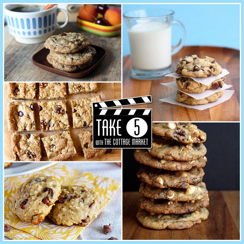 Take 5 FIVE Fabulous Chocolate Chip Recipes