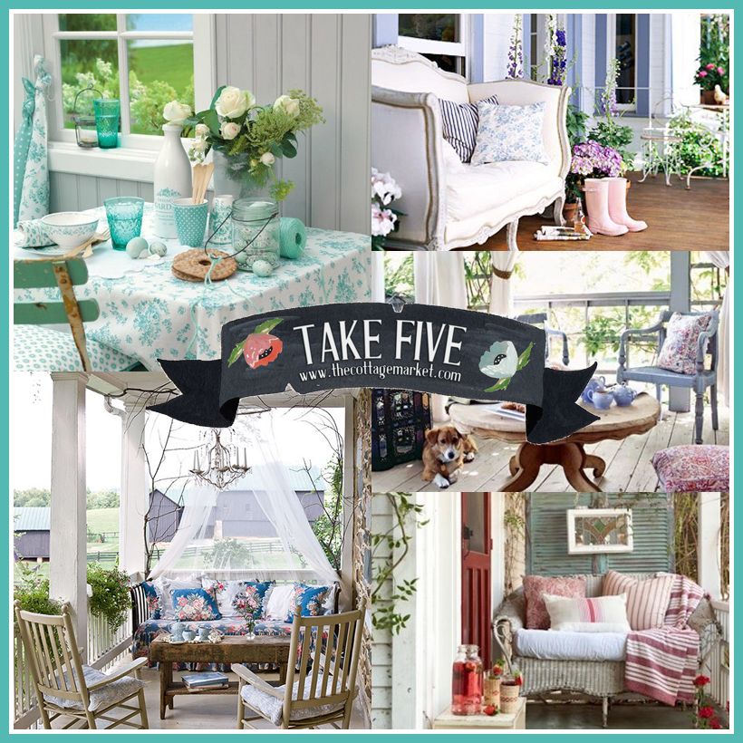 Take 5: All about The Cottage Porch