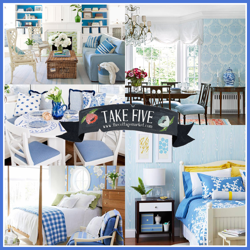 Take Five: All about Decorating with Blues