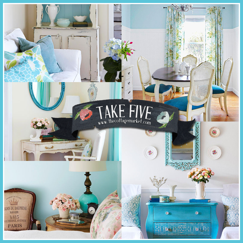 Take 5: A little blue Cottage