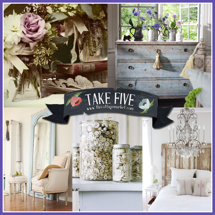 Take 5: A little bedroom facelift or any room