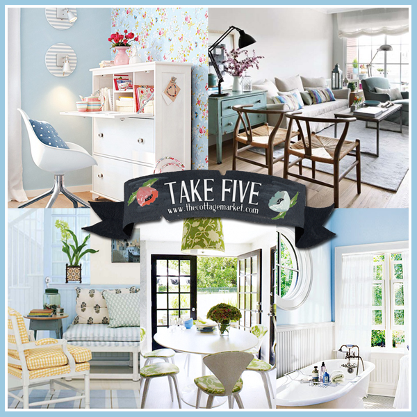 Take 5: Cottage Fresh Decor