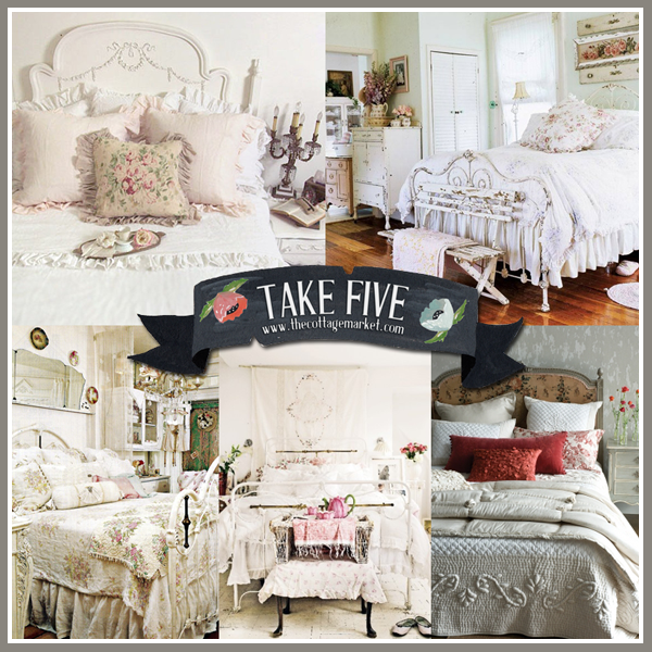 Take 5: The Perfect Cottage Vintage Bed