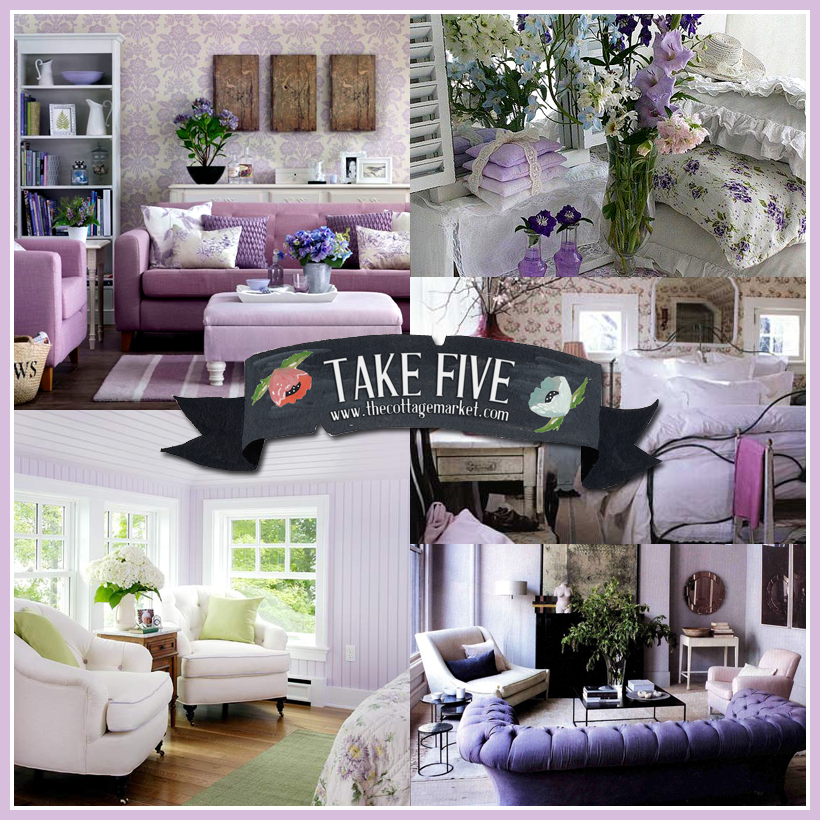 Take 5: All about decorating with Lavender