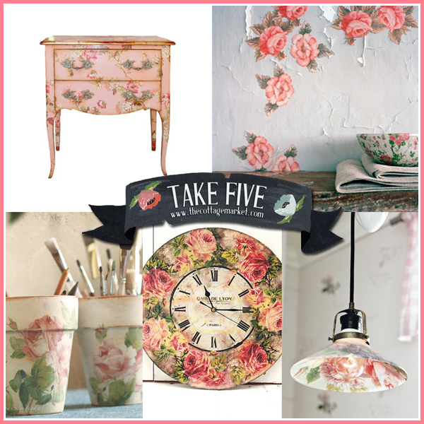 Take 5: A Touch of Cottage Pink