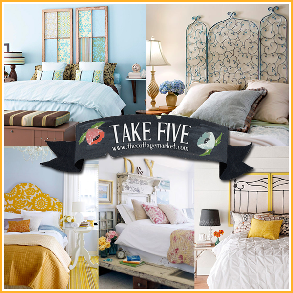 Take 5 5 Easy Diy Headboards The Cottage Market