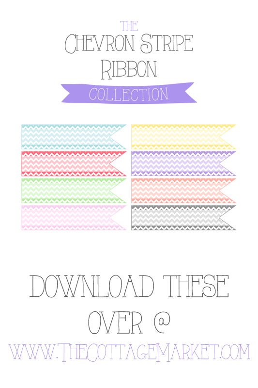 TheCottageMarket-ChevronStripeCollection-Ribbons-tower