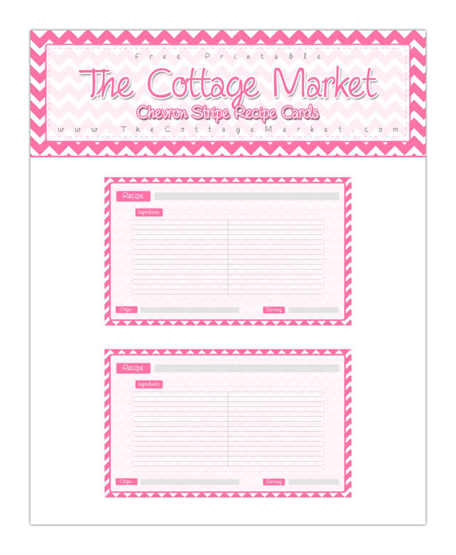 It is an image of Bright Free Recipe Cards by Mail