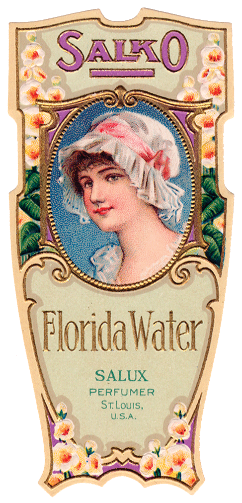 Free Graphic Of The Day Vintage Perfume Label The