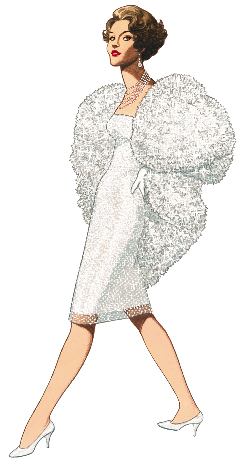 Free Graphic Of The Week, 1959 Fashion Clipart Stunning