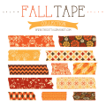 FREE Fall Digital Washi Tape Collection