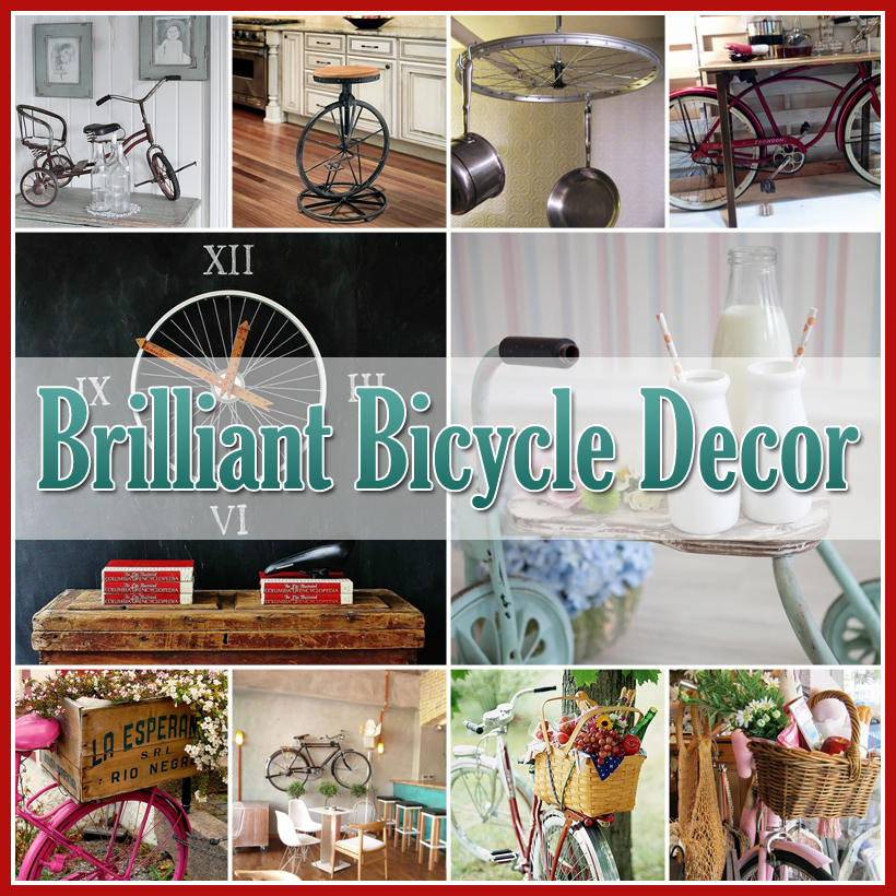 Brilliant Bicycle Decor For The Home Or Garden
