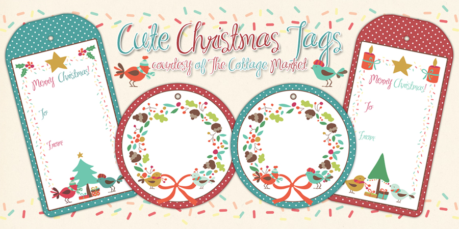 Free Printable Set Of Christmas Tags You Will Love The Cottage Market