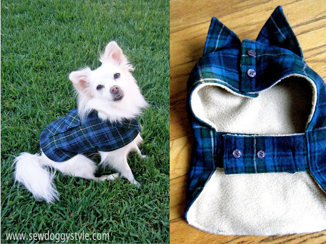 35 DIY Dog Coats
