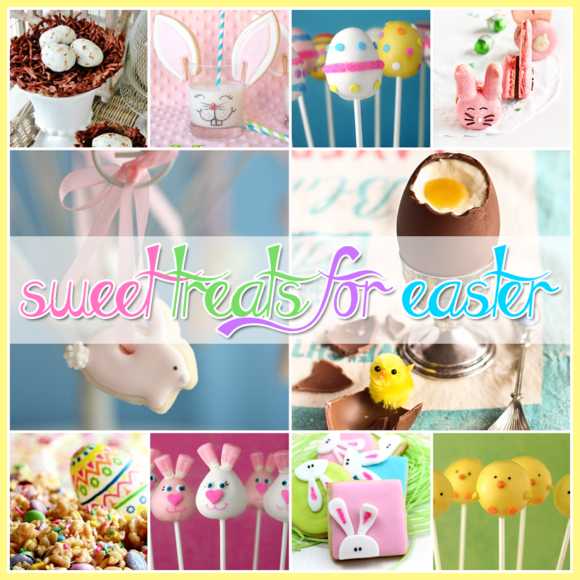 Easter Treats Galore and a Free Printable Recipe Card for Spring