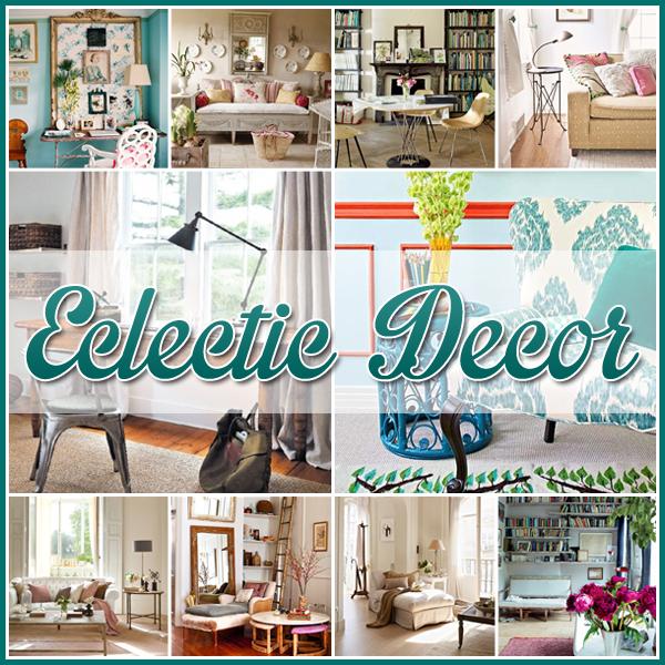 eclectic decor the cottage market - Eclectic Decor