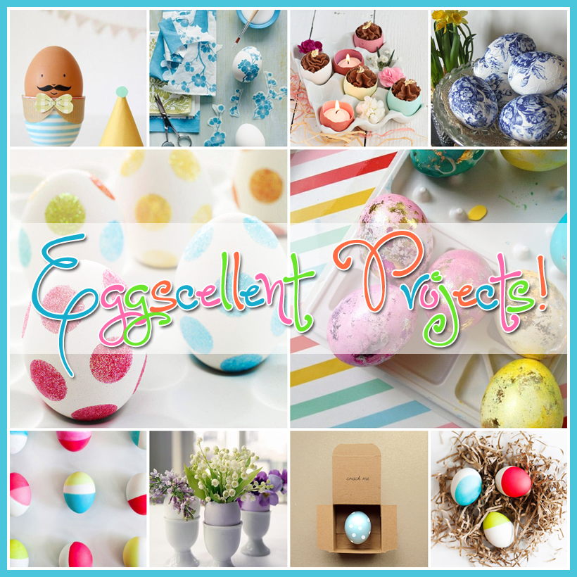 Eggscellent Ideas Great Egg DIY Projects