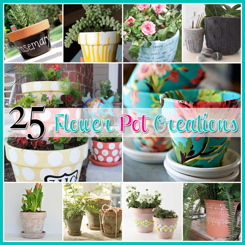 25 Flower Pot Diy S The Cottage Market