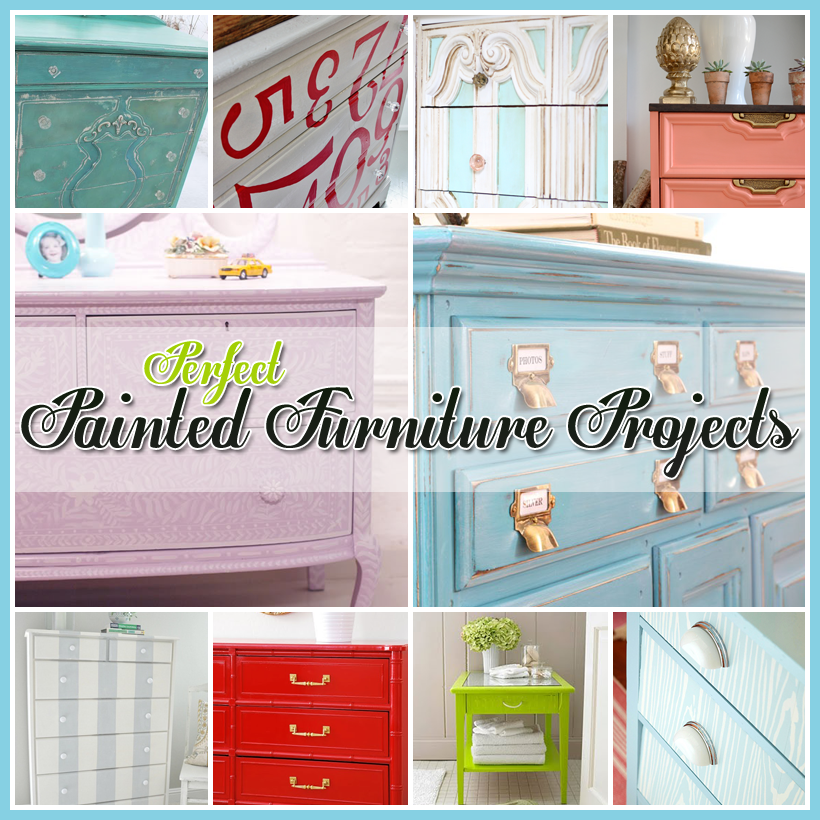 Perfect Painted Furniture Projects and DIY's