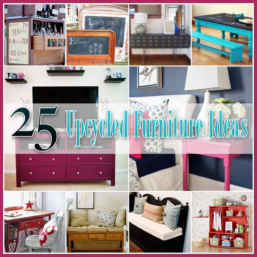 25 Upcycled Furniture Ideas The Cottage Market : furnitureideas from www.thecottagemarket.com size 820 x 820 png 937kB