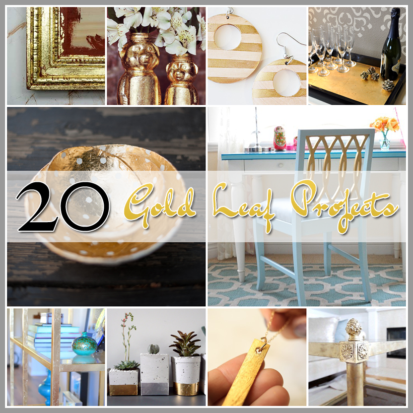 20 Gold Leaf Projects
