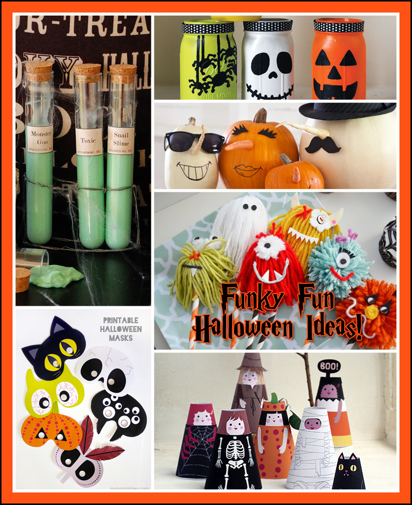 fun and funky halloween ideas the kids will love the cottage market