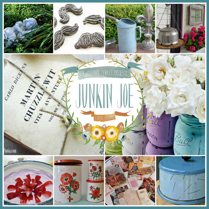 Junkin Joe Features and Linky Party! Everyone is WELCOME