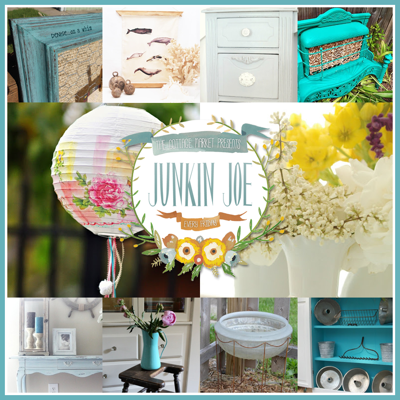 Junkin Joe Vintage & Upcycle, Fabulous Features, Finds, Amazing Creations and a Linky Party ALL WELCOME
