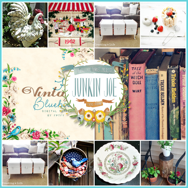 Junkin Joe…Vintage Find…Features and a Party…all Welcome!