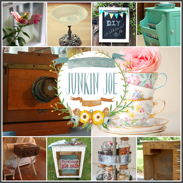 Junkin Joe Vintage Finds & Upcycled Creations, A Linky Party & Features