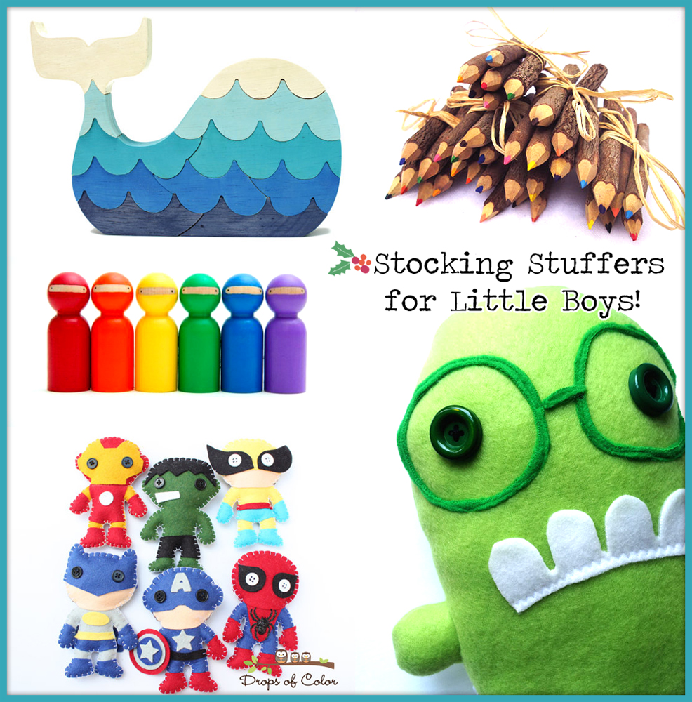 Stocking Stuffer Ideas for Little Boys...with HomeMade Style - The ...