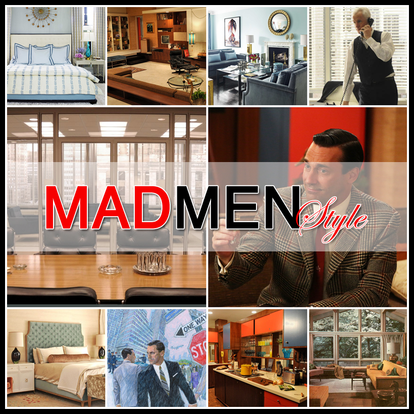 Mad Men Style A Look At 1960 S Decor The Cottage Market