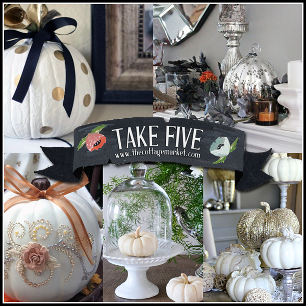 Ideas For Decoration: 5 Glam Fall Decor Ideas