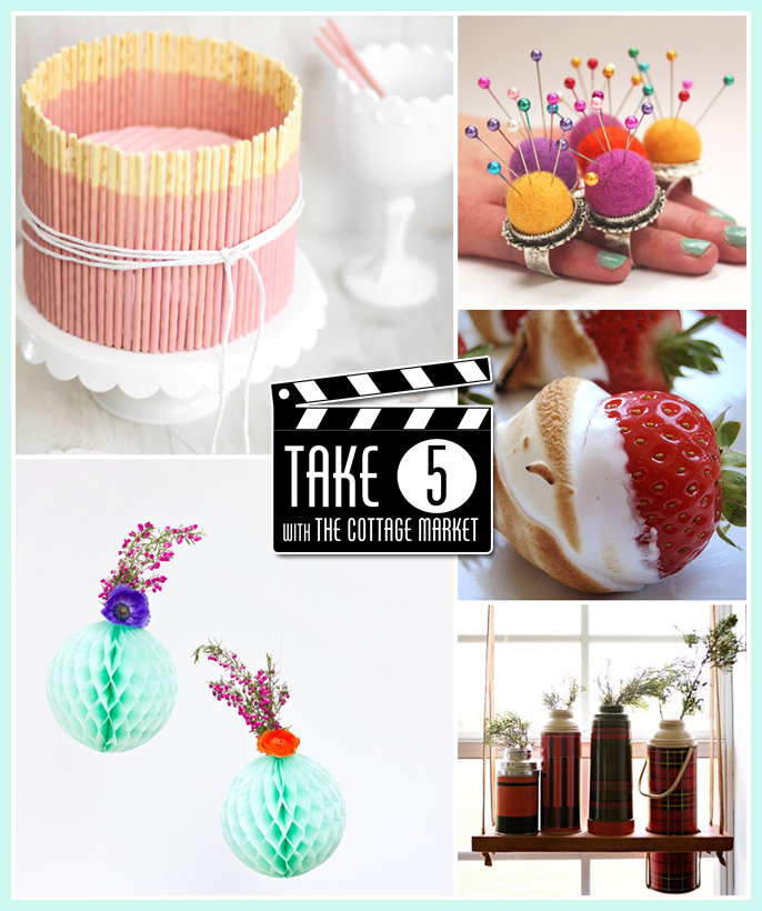 Take Five 5 Fun Things you will love!