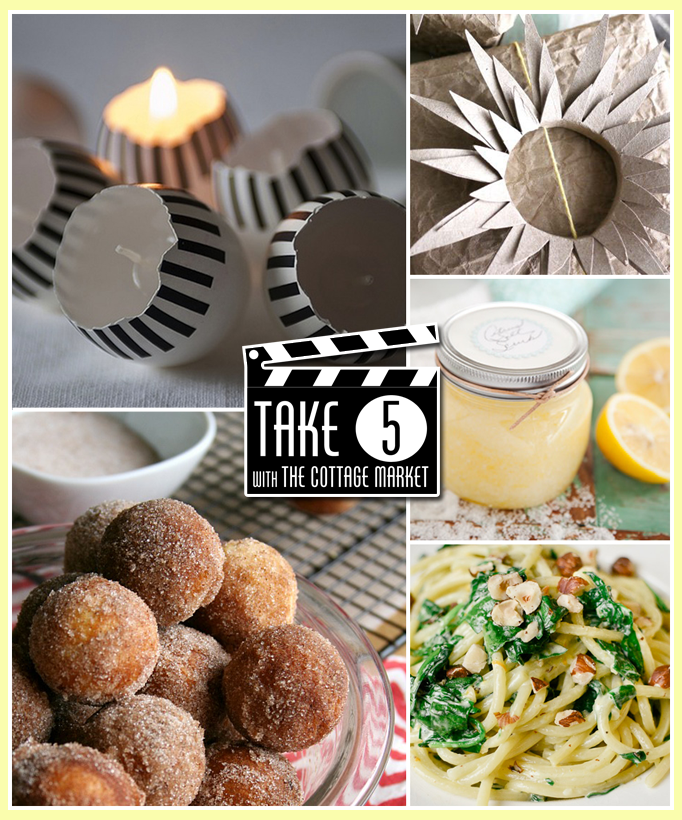 Take Five 5 FUN things to make