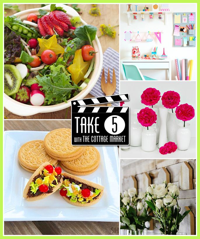 Take 5 A Round-up of Fun projects and recipes