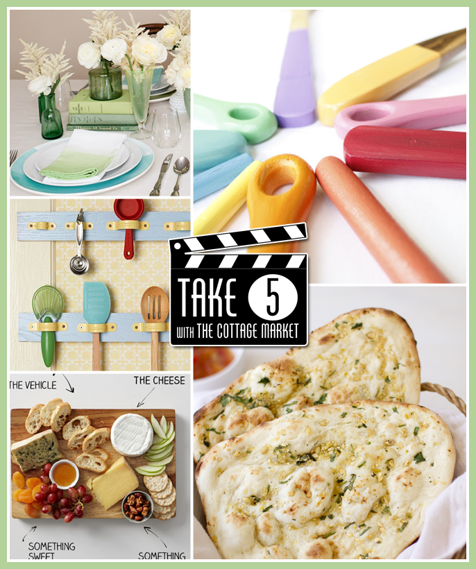 Take 5: 5 fun Kitchen DIY's