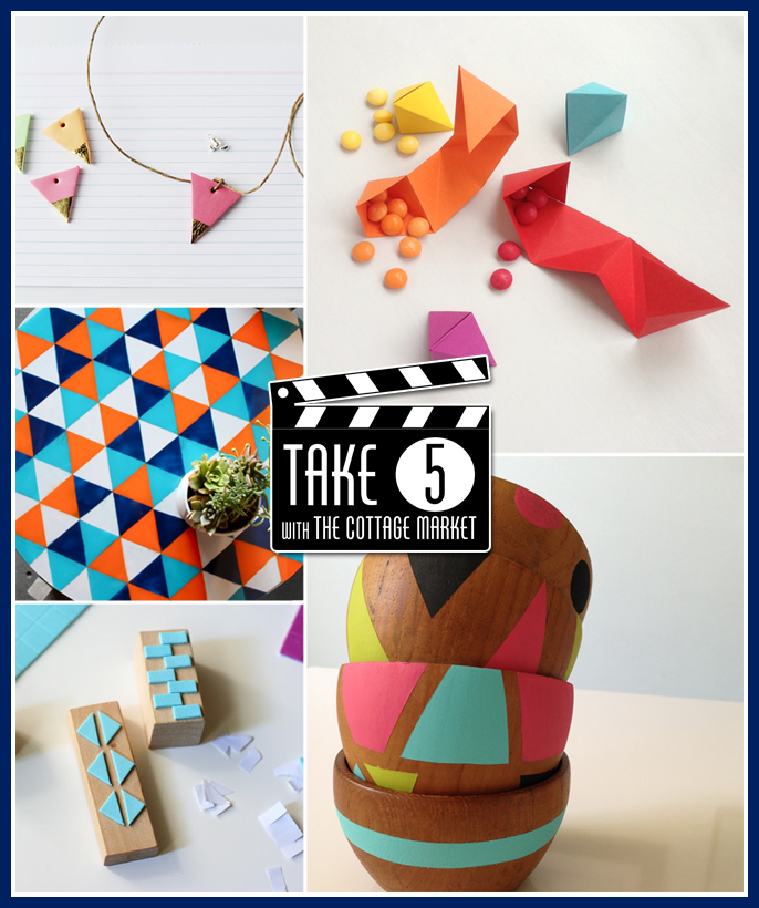 Take 5 Geometric Creations