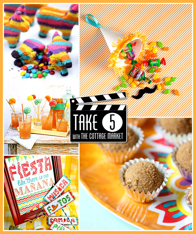 Take 5 Five Cinco De Mayo Treats
