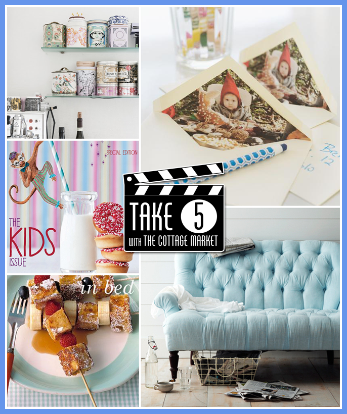Take Five Home Decor and More