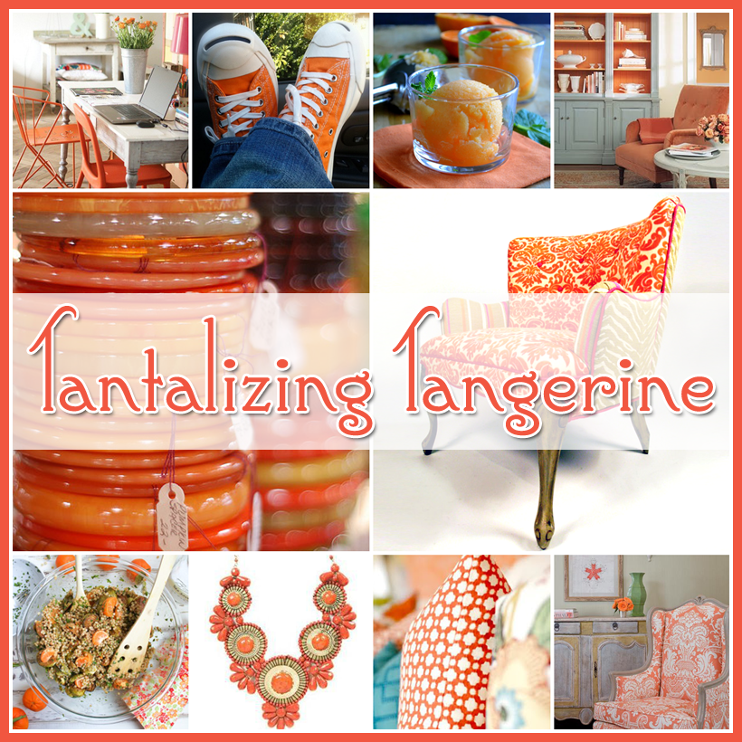 Tantalizing Tangerine and exploration of color