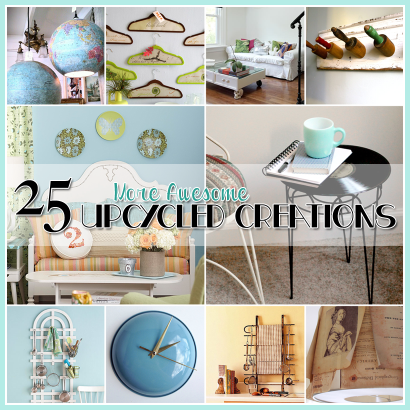 25 More Awesome Upcycled Diy Projects The Cottage Market