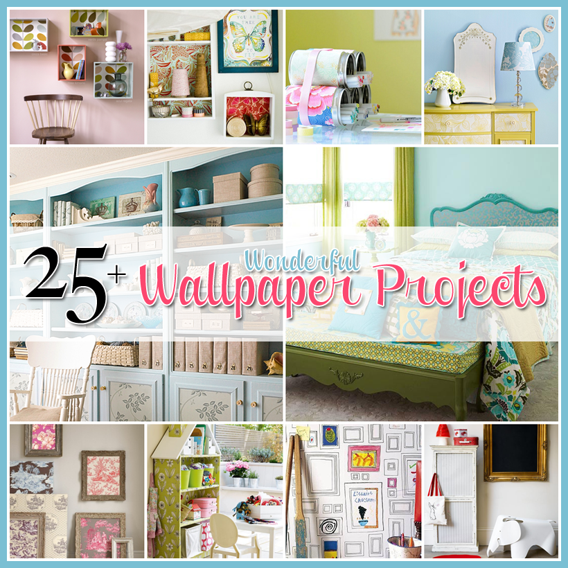 25 Wonderful Wallpaper Projects The Cottage Market