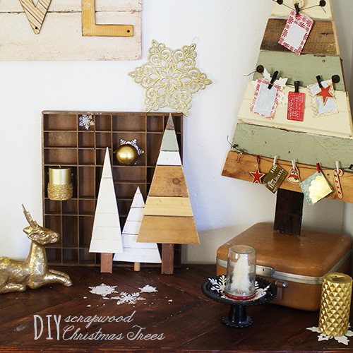 Terrific Holiday Tree Crafts - The Cottage Market