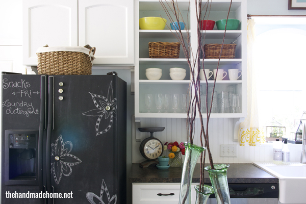 Laura From Finding Home Has A Few Quick And Easy Tips To Freshen Up Your  Kitchen! This Is An Idea I Absolutely Love. When Company Is Coming You Can  Decorate ...